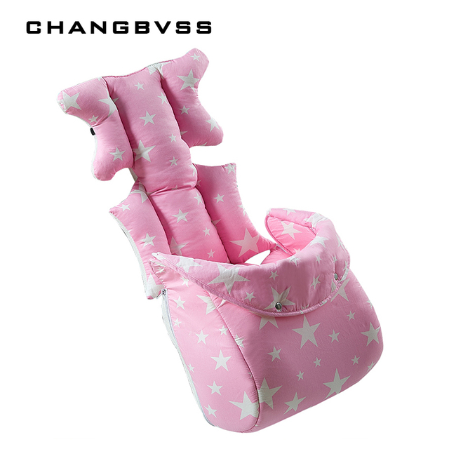 Winter Warm Socks for Baby Stroller Accessories 2 in 1 Baby Stroller Cushion & Footmuff Pram Thicken Pad & Legs Warmer 3 Colors