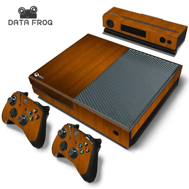 Aliexpresscom  Buy Custom For Microsoft XBOX One Console Wood - Custom vinyl decals for wood