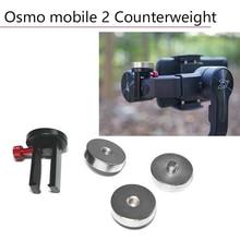 Counterweight for DJI Osmo Mobile 2 Zhiyun Smooth 4 Vimble Feiyu Handheld Gimbal Camera Stabilizer Balance Counter Weight