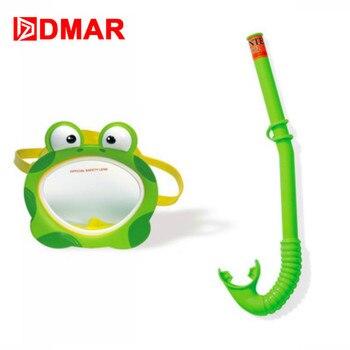 DMAR Frog Separate Diving Anti-fog Folding swimming child Snorkeling Mask Underwater Scuba Glasses Apparatus Training