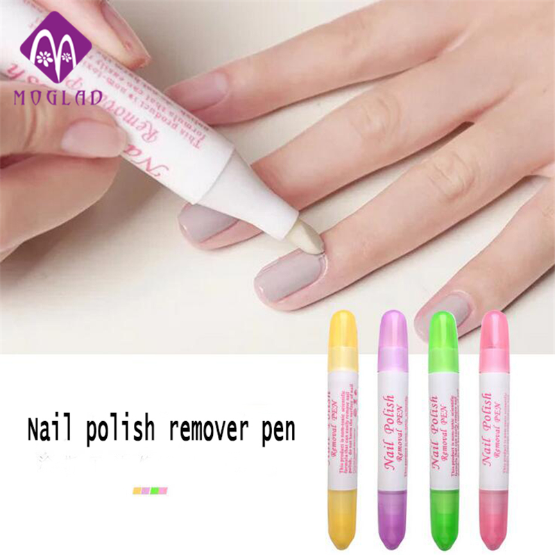 №4 Colors Nail Art Gel Gel Nail Polish Remover ༼ ộ_ộ ༽ Pen