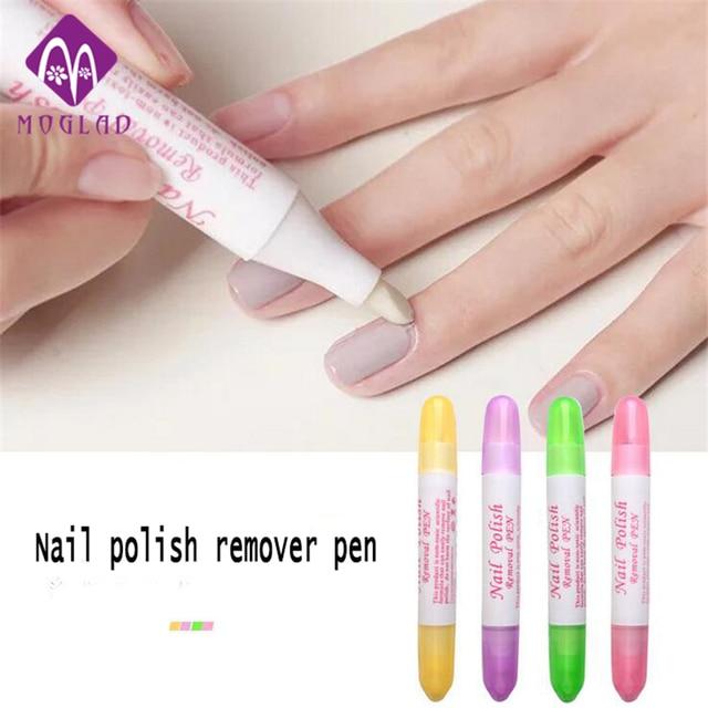 4 Colors Nail Art Gel Nail Polish Remover Pen Manicure
