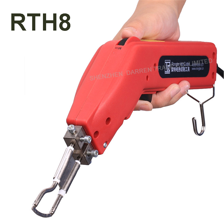 ФОТО 220 V 100 W Durable and Practical of the Strict of Banner Hot Heating Cutter Hand Rope Hot Heat fabric Knife Cutter Tool