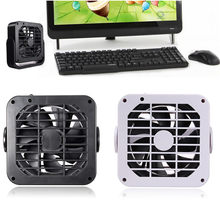 Portable 5V power Supply Super Mute USB Desk Fan Cooler Cooling universal for PC Computer Desktop Laptop Notebook High Quality(China)