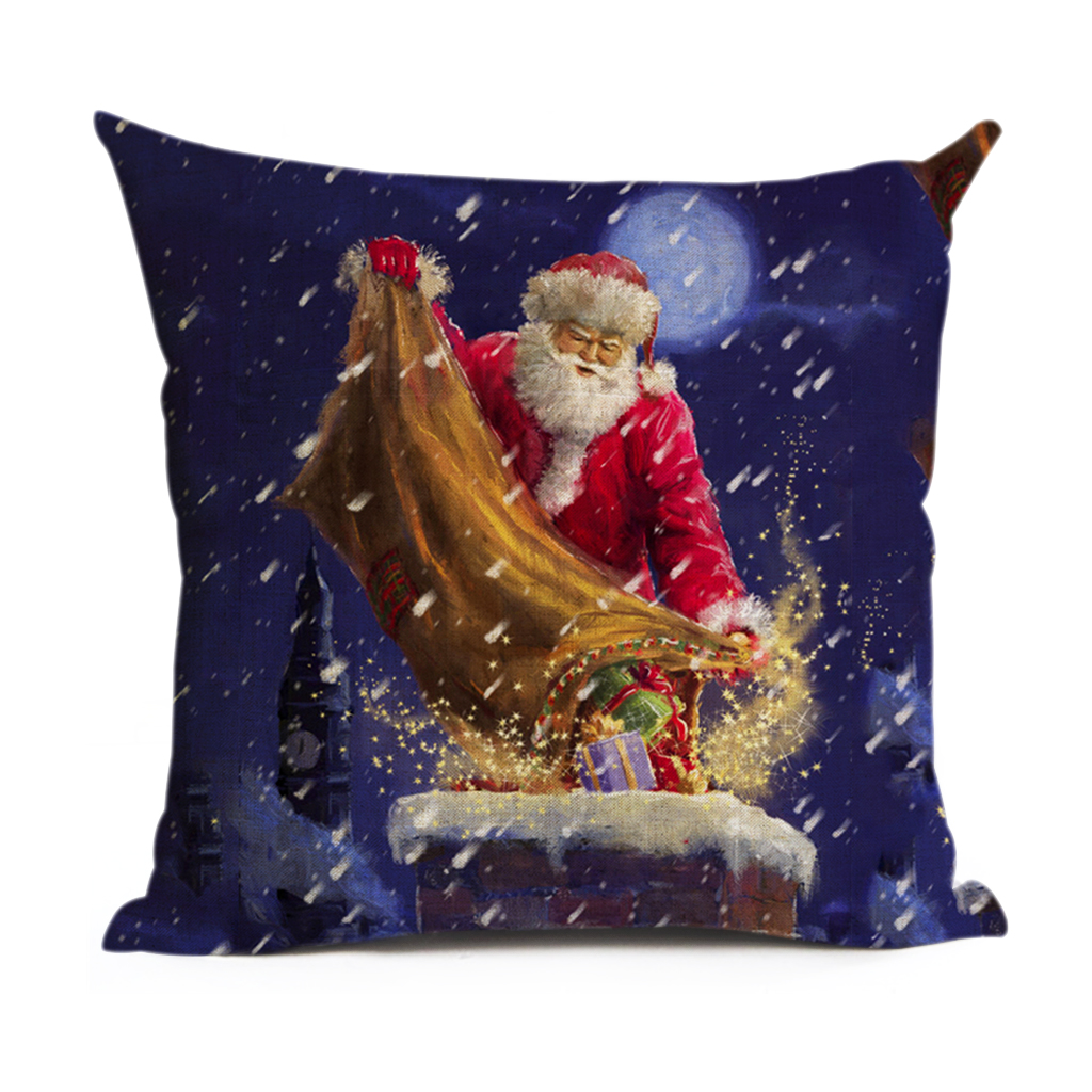 Μαξιλάρι Εξώφυλλο Χριστουγεννιάτικο - Αρχική υφάσματα - Φωτογραφία 4