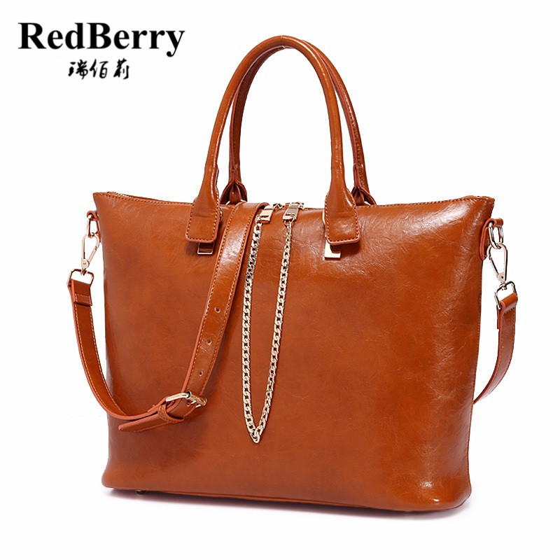 цена на 2016 New Women Genuine Leather Bag Casual Tote European Style  Handbag Trendy Bolsas Fashion Shoulder Bag Vintage Messenger Bags