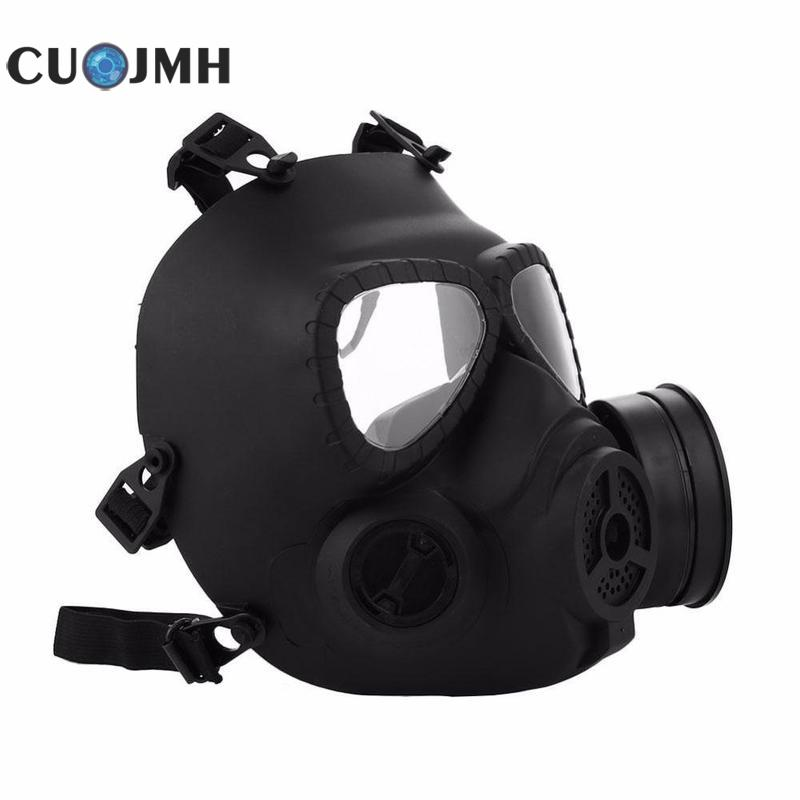 M04 Gas Mask Tactical Airsoft Game Full Face Protection Safety Mask 3 Colors Outdoor Protection Adjustable Antigas Mask