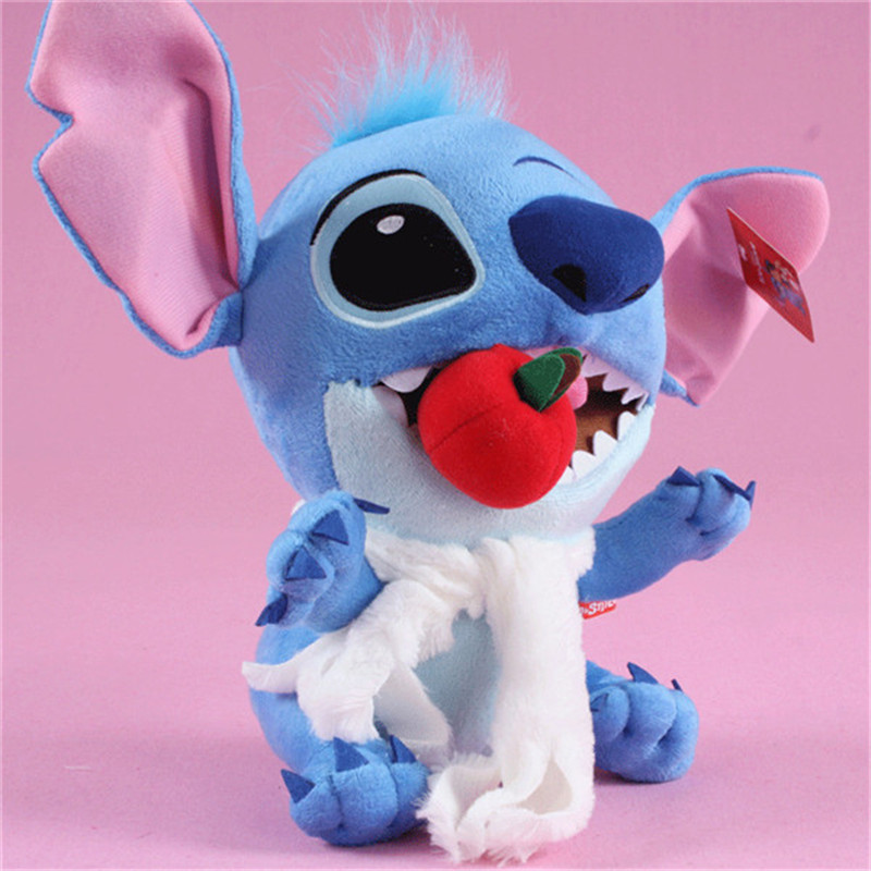 Kawaii Anime Stitch Plush Toys Big Lilo and Stitch Stich Stuffed Dolls Blue Stitchs Kids Birthday Christmas Gift 30cm  (4)