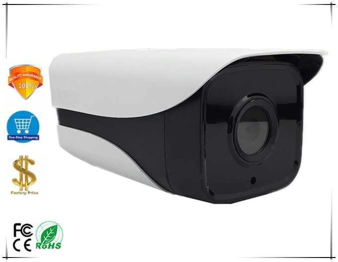 2 8 12mm Electric Zoom Auto Focus 4X IP Bullet Camera 4 Array LEDs IRC 3516E