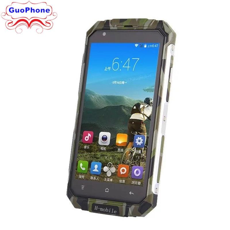 Original H-V9 Plus móvel Quad Core Android 5.0 512 MB RAM GB ROM 3 8G GPS 5.0 tela Do Telefone Inteligente Rover Polegada V9 Plus Telefone