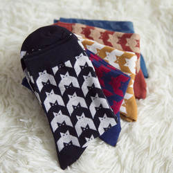 10 пар/лот Новые мужские носки с принтом народном стиле Модные Носки оптовая продажа коттоновые носки