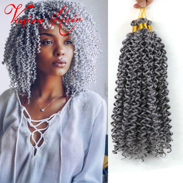 Water Wave Crochet Braids Hair Feathers 14inch Synthetic Latch Hook Curly Waves