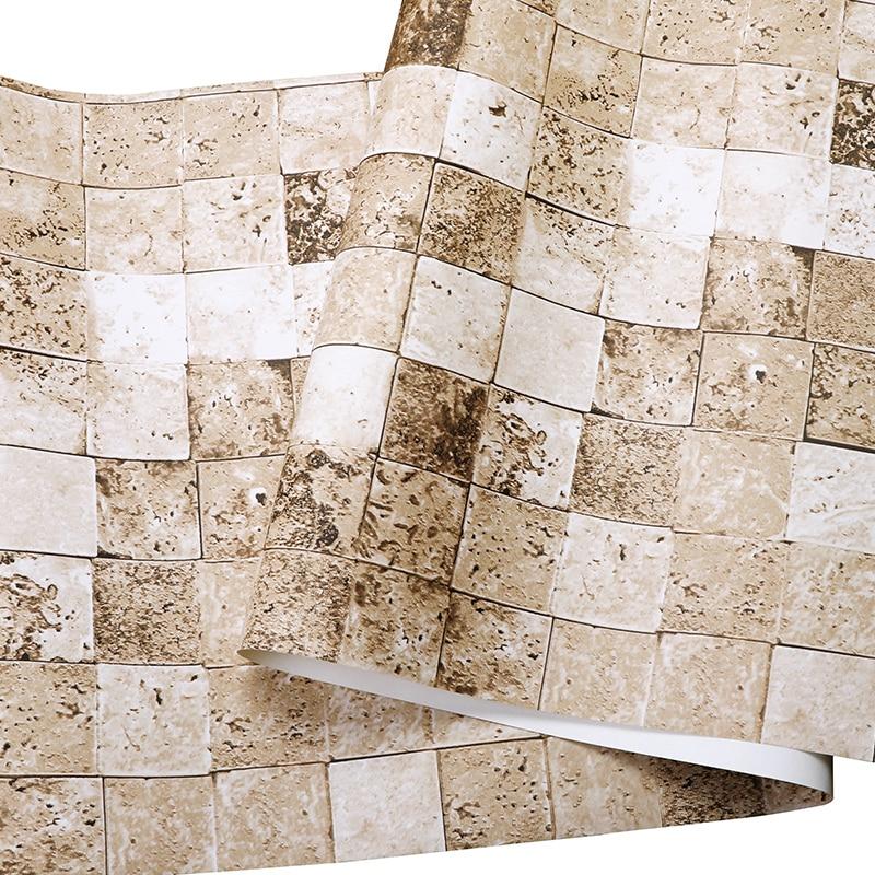 Modernen Chinesischen Charakter Stein Ziegel Fliesen Tapete D - Fliesen beflocken