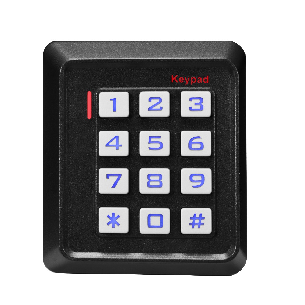 Access Control Proximity RFID Card Reader EM-ID 125KHz Reader Access Control System proximity rfid 125khz em id card access control keypad standalone access controler 2pcs mother card 10pcs id tags min 5pcs