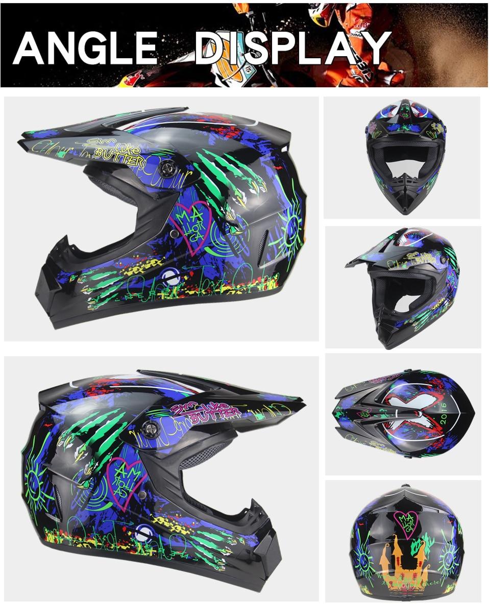 motocross downhill bicicleta capacete AHP-225