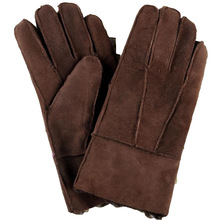 Man winter glove plus size wool sheepskin fur thicken gloves male oversized leather fur warm mitten men fur glove