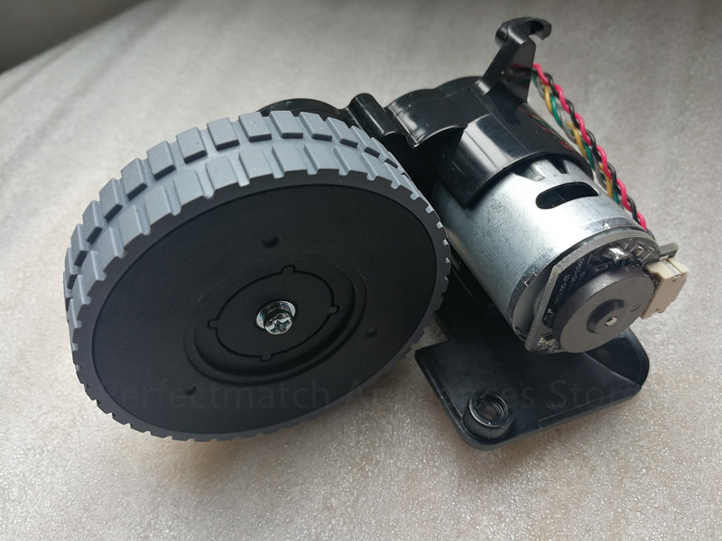 Image 3 - robot vacuum cleaner Right wheel for ilife A6 A8 ilife X623 x620 robot vacuum cleaner wheel motor replacement accessoriesVacuum Cleaner Parts   -