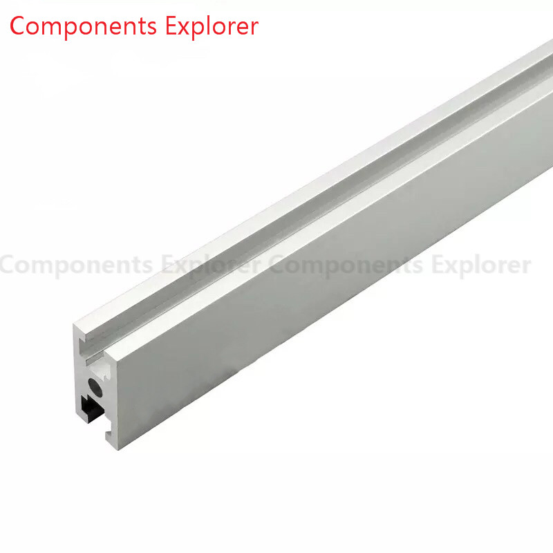 Arbitrary Cutting 1000mm 2040GW Aluminum Extrusion Profile,Silvery Color.