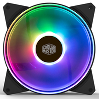 Cooler Master MF140ARGB 14cm 5V RGB PC Case Cooling fan 140mm 4pin PWM Quiet Computer fan for CPU Cooler Liquid Cooling