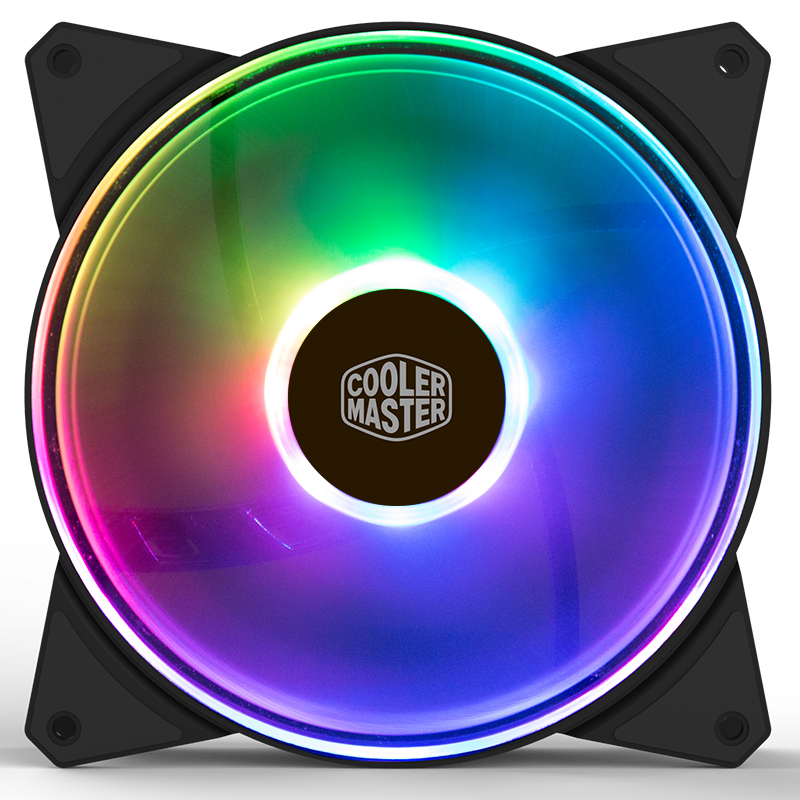 Cooler Master MF140A RGB fan 14cm 12V 4pin PWM Quiet case ARGB fan for CPU cooler Liquid cooler 140mm computer cooling PC Fan 90x90x25mm 12v 4pin computer pc cpu silent cooling cooler case fan