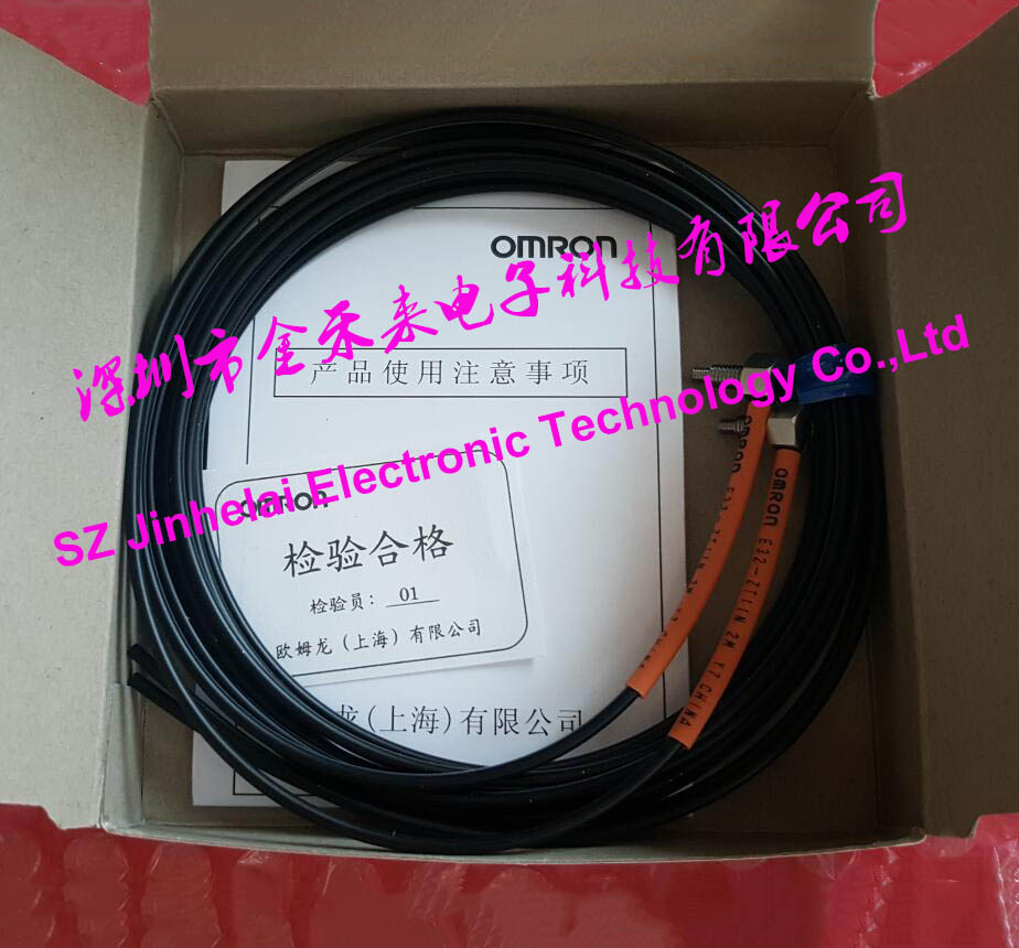 все цены на 100% New and original E32-ZT11N OMRON PHOTO ELECTRIC SWITCH FIBER UNIT 2M BY OMS
