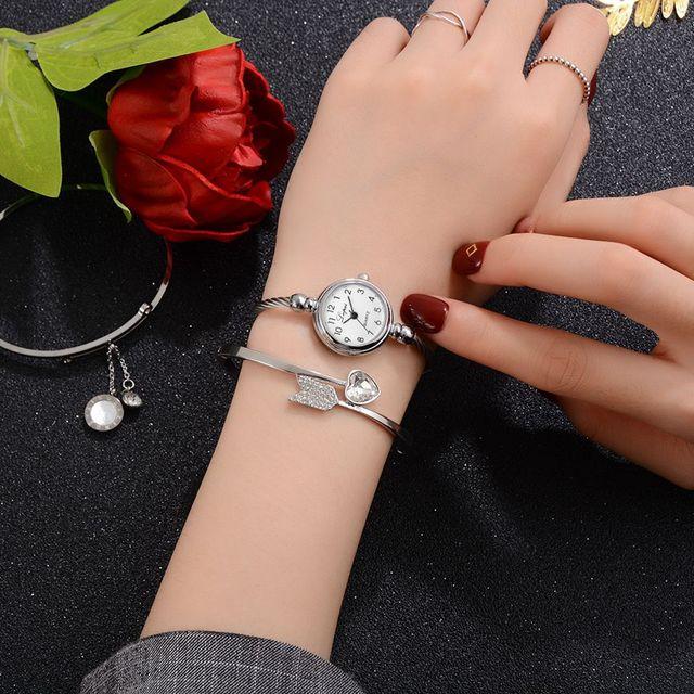 Lvpai Fashion Women Bracelet Watch Luxury Brand Stainless Steel Silver Ladies Wr