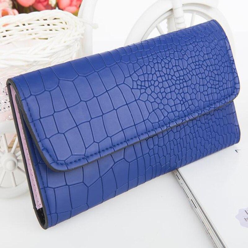 Women wallet fashion leather stone grain pattern style for Tile fashion 2016