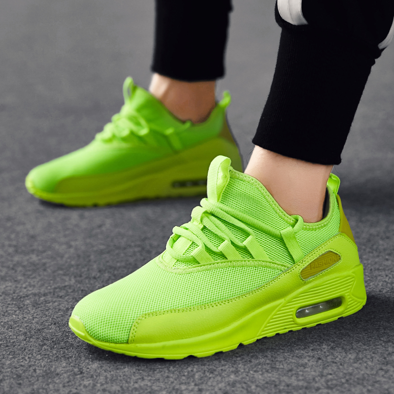 Mens Air Cushion Fashion Sports Sneakers Casual Shoes Breathable Girls Unisex