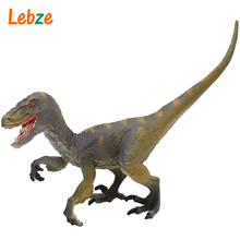 Velociraptor Model Realistic Dino Toy For Children Dinosaur Figures For Collection Best Gift For Boy 16x12x5cmcm(China)