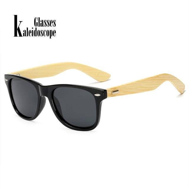 Woodsun kaleidoscope glasses bamboo sunglasses for men women spectacles