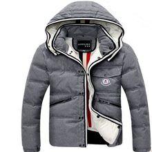 2016 große Größe 9 Farben Outwear Warme Winterjacke Männer Winddicht Haube Männer Jacke Größe