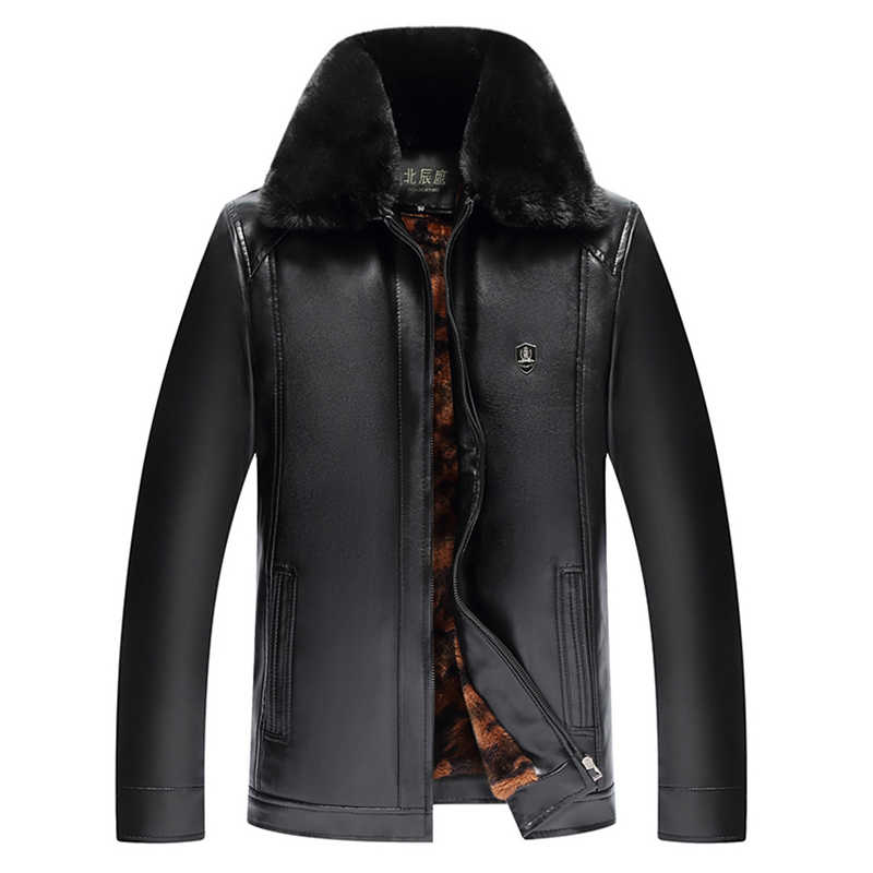Флисовая куртка на молнии с мехом Мужская Зимняя Толстая парка повседневная мужская классическая теплая куртка Осенняя мужская верхняя одежда пальто ветровка бренд