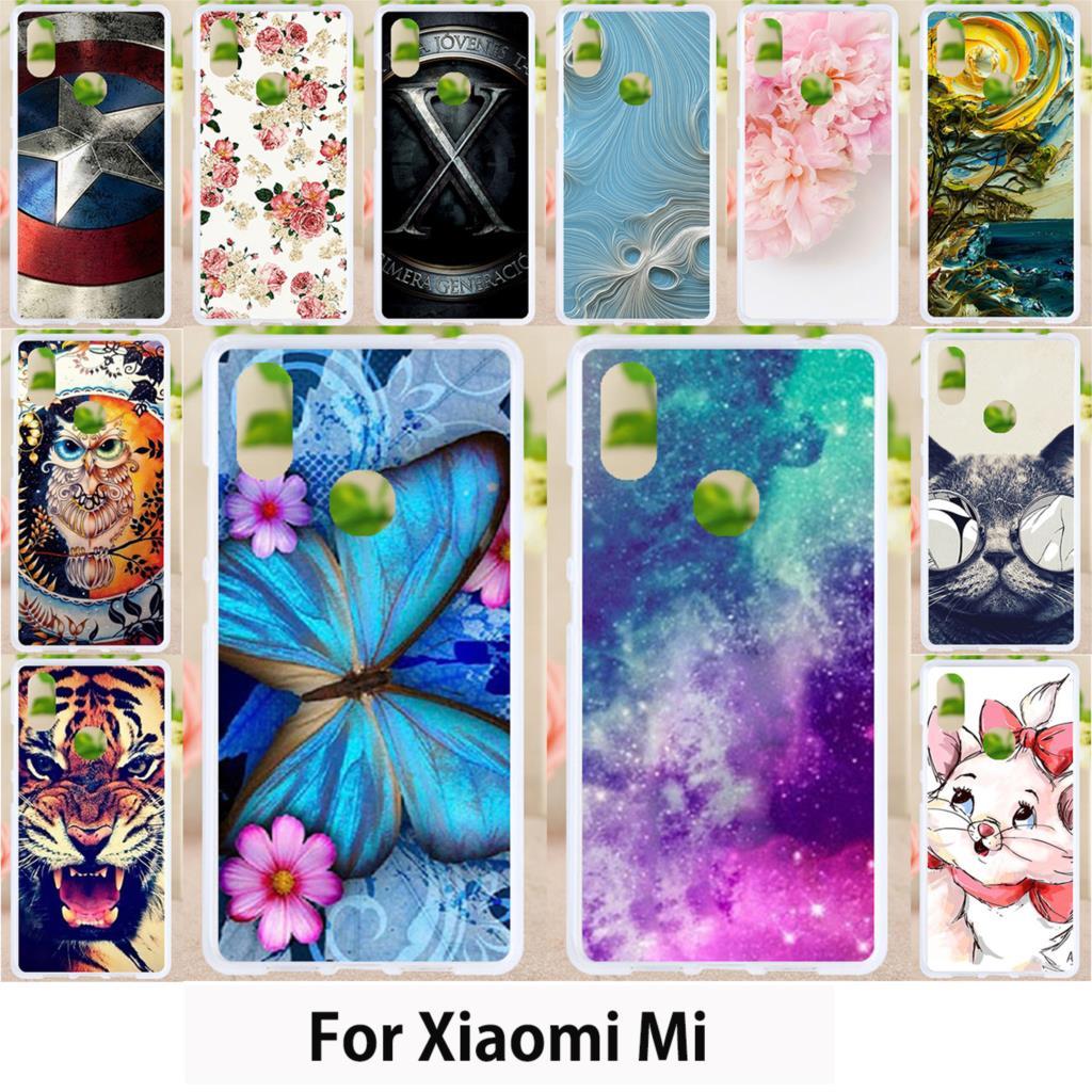 Walcox Soft Cases For Xiaomi Mi A1 A2 8 SE Mix 2 2S Case Cover For Xiaomi Mi 5 5X 6X 4 4i 5S Plus 6 MAX 3 2 Note 2 3 Mi4C X9