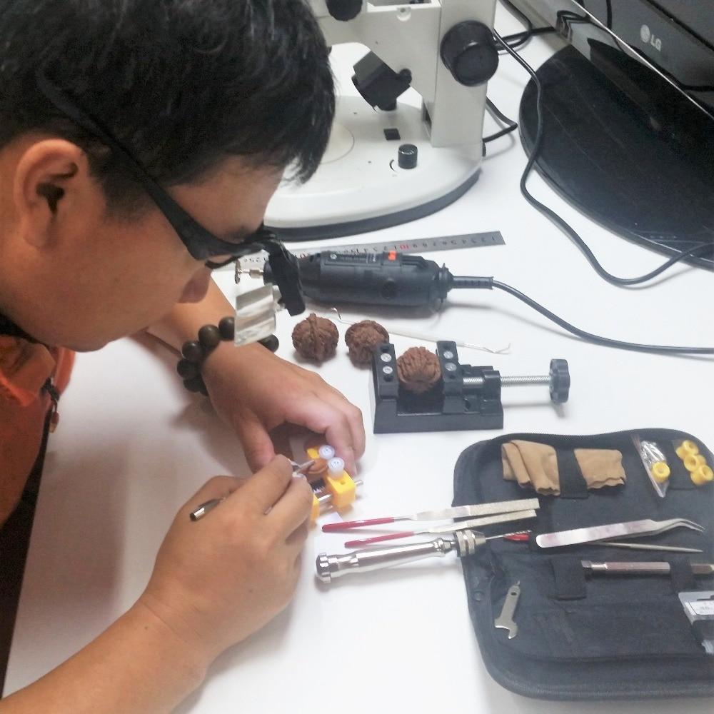 Diadema Lupa Lupa de reparación de ojos 2 LED Luz 1.0 / 1.5 / 2.0 / - Instrumentos de medición - foto 6