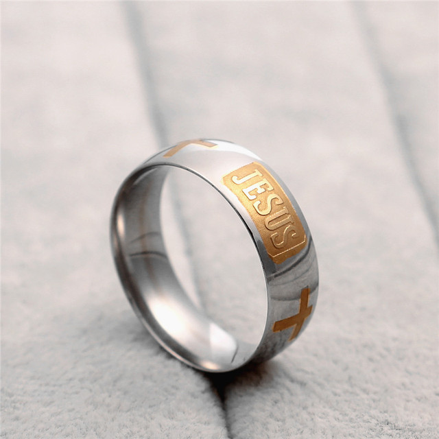 Christian Jesus ring 2