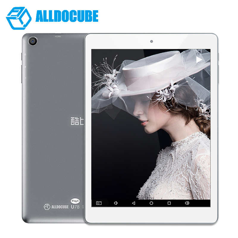 7.85 Inch IPS 1024 x 768 ALLDOCUBE Cube iplay8 U78 Tablet PC Android 6.0 Tablets MTK8163 Quad core HDMI GPS 1GB Ram 16GB Rom onda v819mini 7 9 quad core android 4 2 2 tablet pc w 1gb ram 16gb rom hdmi silver white