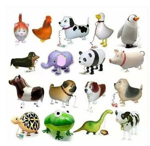 Image 1 - Lote de 20 globos de papel de aluminio para regalo de feliz cumpleaños, para regalo de granja, animales de granja, Envío Gratis