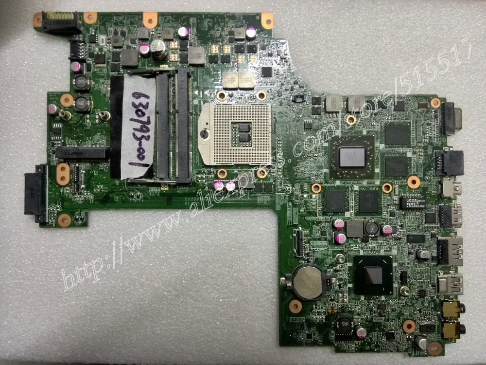 630793-001 For Hp ENVY 17 17-2001TX 17T-2000 Serise Notebook PC Mainboard DA0SP9MB8D0 Rev:D, Working Perfectly