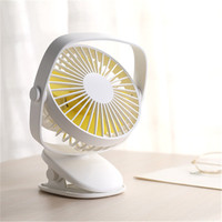 DC9V USB Desktop Clip Fan with Built in 2000mAh Battery Fan Home Office School Desktop Summer Cooling Fan