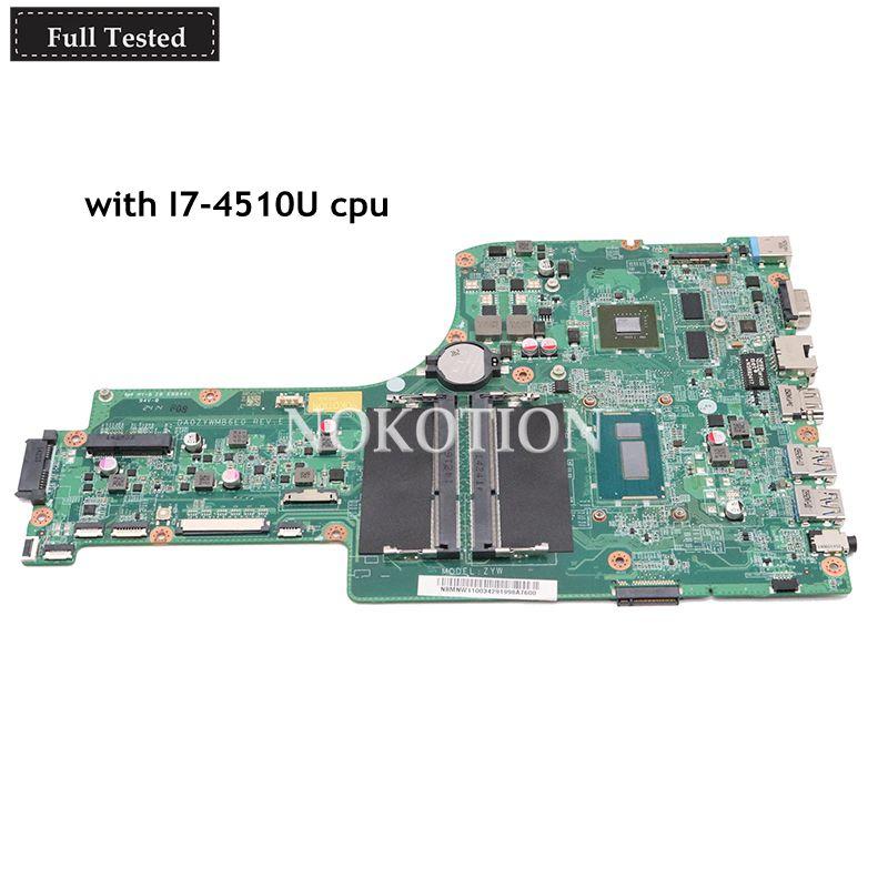 NOKOTION Laptop Motherboard For font b Acer b font aspire E5 771G NBMNW11003 NB MNW11 003