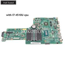 NOKOTION Laptop Motherboard For Acer aspire E5-771G NBMNW11003 NB.MNW11.003 DA0ZYWMB6E0 Main board I7-4510U CPU GT840M GPU