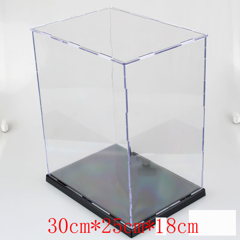 Machine acrylic glass assembled type a whole box of no protruding edge decoration hand display box