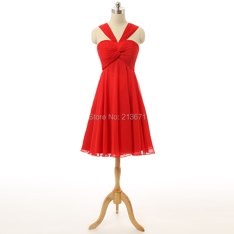 Popular Red Halter Cocktail Dress-Buy Cheap Red Halter Cocktail ...