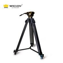 Tripod camera 3d hydraulic damping mount taishan tripod T6 stabilized