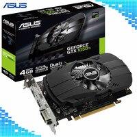 Asus PH GTX 1050Ti 4G Graphics Cards 7008MHz 128Bit 1290/1392MHz GDDR5 PCI Express 3.0 16X GeForce GTX 1050Ti Video Card