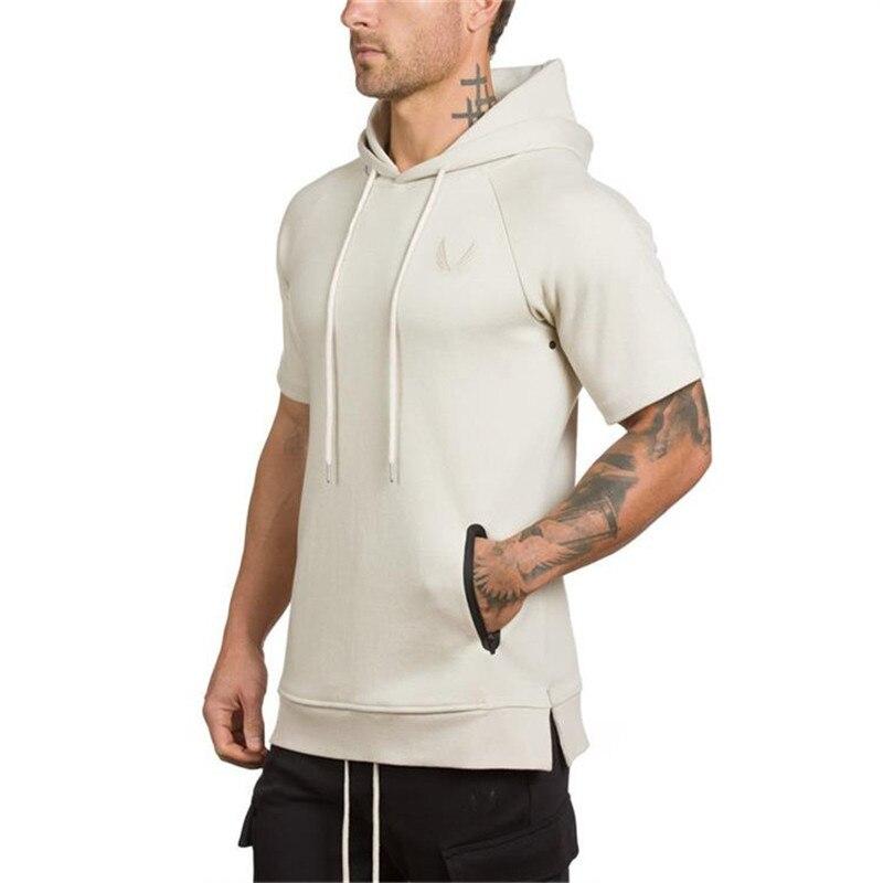 Camouflage Short Sleeve Hoodies 2