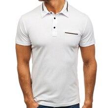 Polo Shirt Men 2018 Brand Clothing Pocket Colour Matching Polo Shirt Cotton Short Sleeve Poloshirt Mens Zipper Decoration