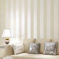 Non Woven Stripes Modern Fashion Minimalist Rooms Bedroom Studio Backdrop Full Of Shops Wallpaper Papel De