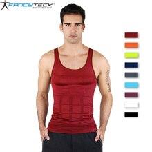 9 Цвета S-2XL Мужская похудения body shaper тонкая талия Похудение фитнес человек нижнее белье мужские без рукавов
