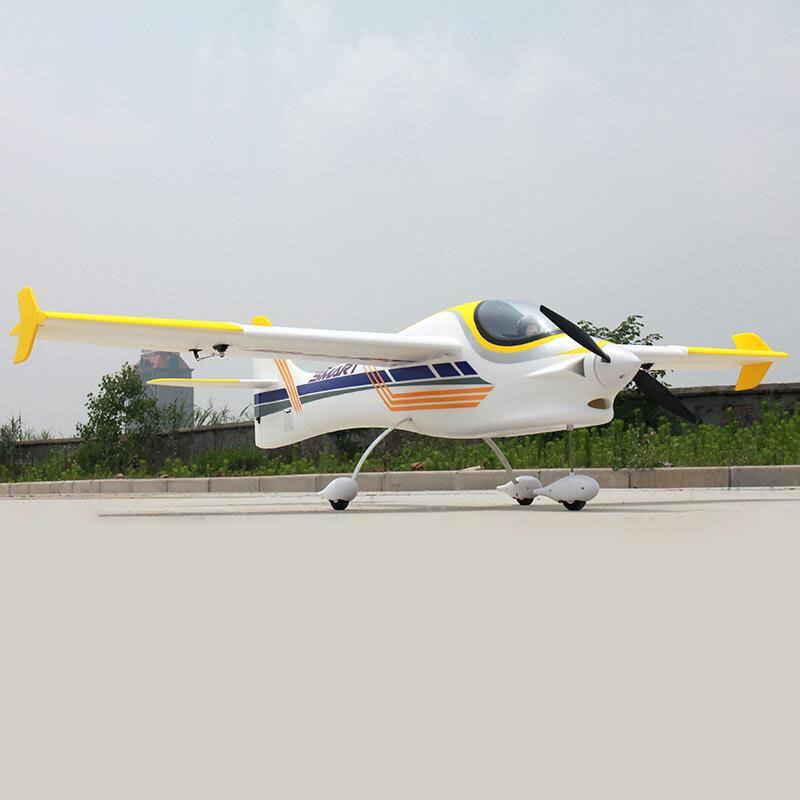 цена на Dynam 1500MM Smart Trainer RC PNP Propeller Plane W/ Motor ESC Servo W/O Battery